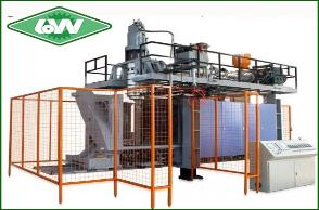 Injection Blow and Molding Machine